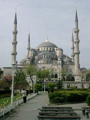 Sultan Ahmet Moschee, Istanbul