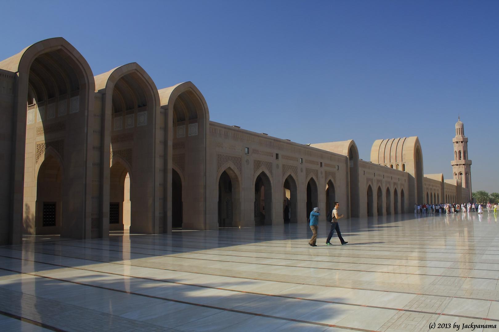 Sultan-Qaboos-Moschee in Muscat (Sultanat Oman) (1)