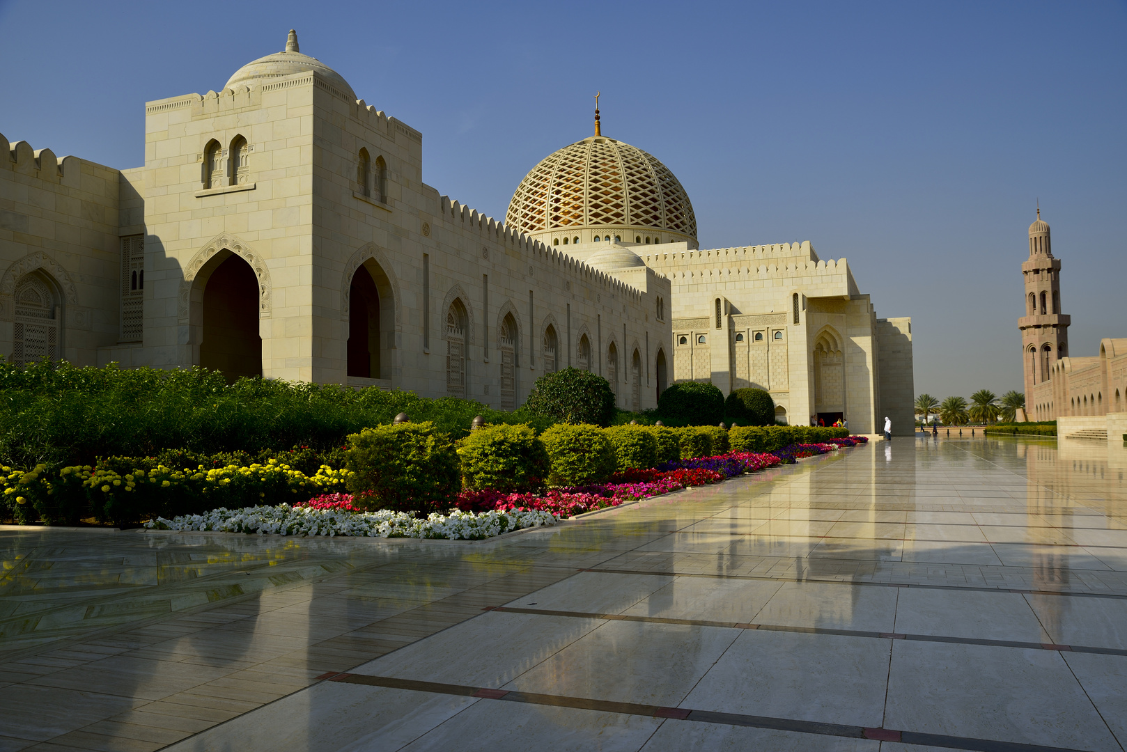 Sultan Qaboos Moschee / Maskat