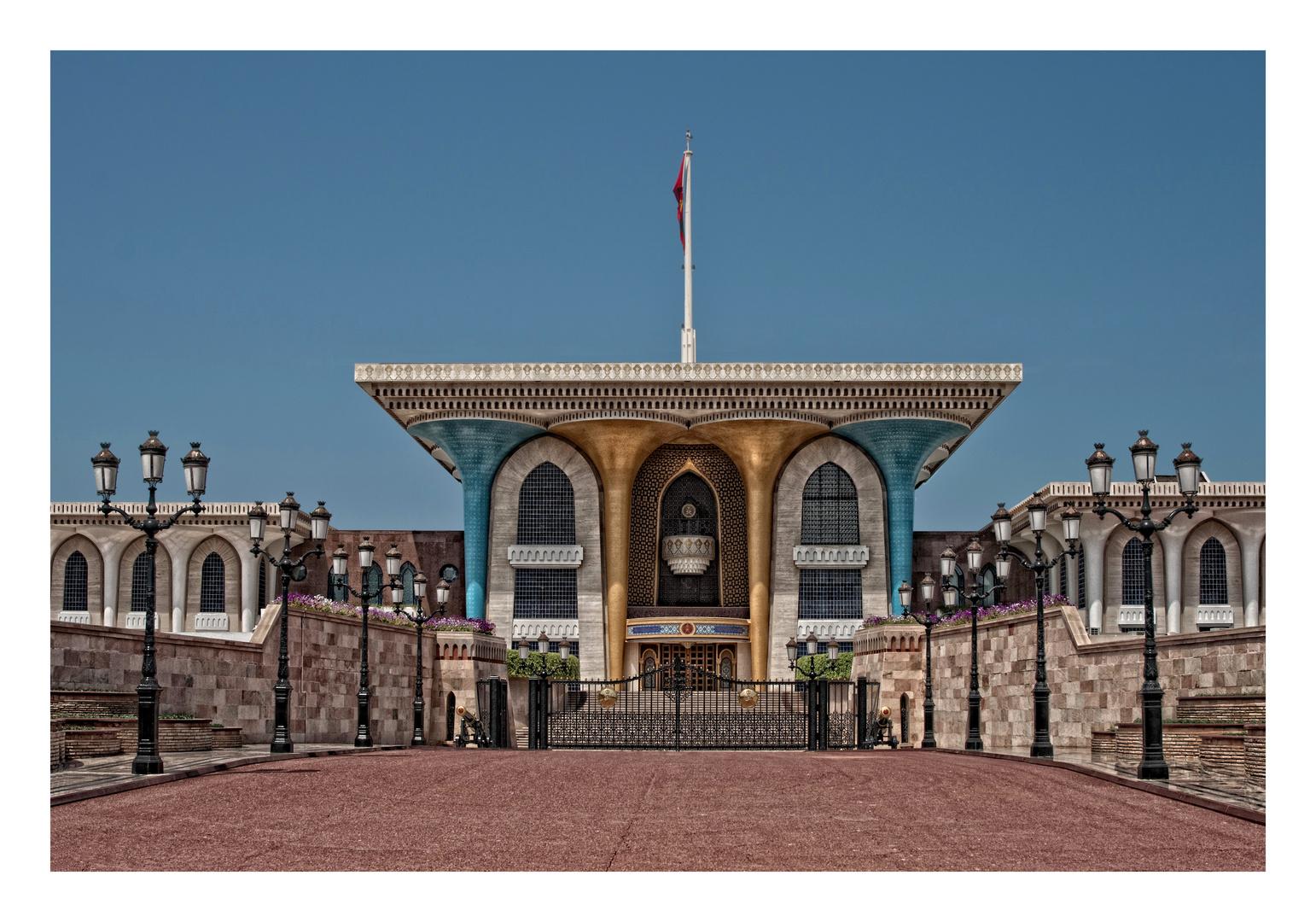 Sultan Qabus ibn Said - Palast