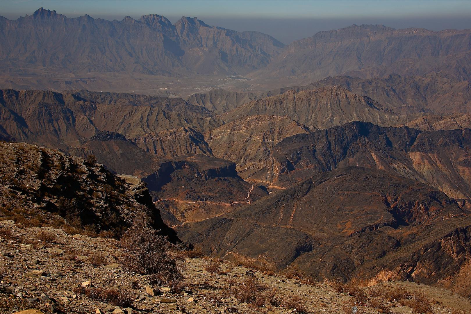 Sultanat d'Oman: quelques routes... pour le moins escarpées.