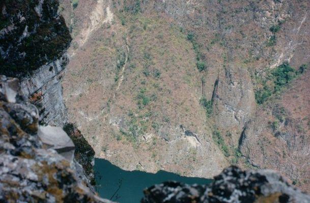 Sumidero Canyon in Mexiko