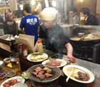 sumiyaki / Grillen auf Holzkohle japanisch
