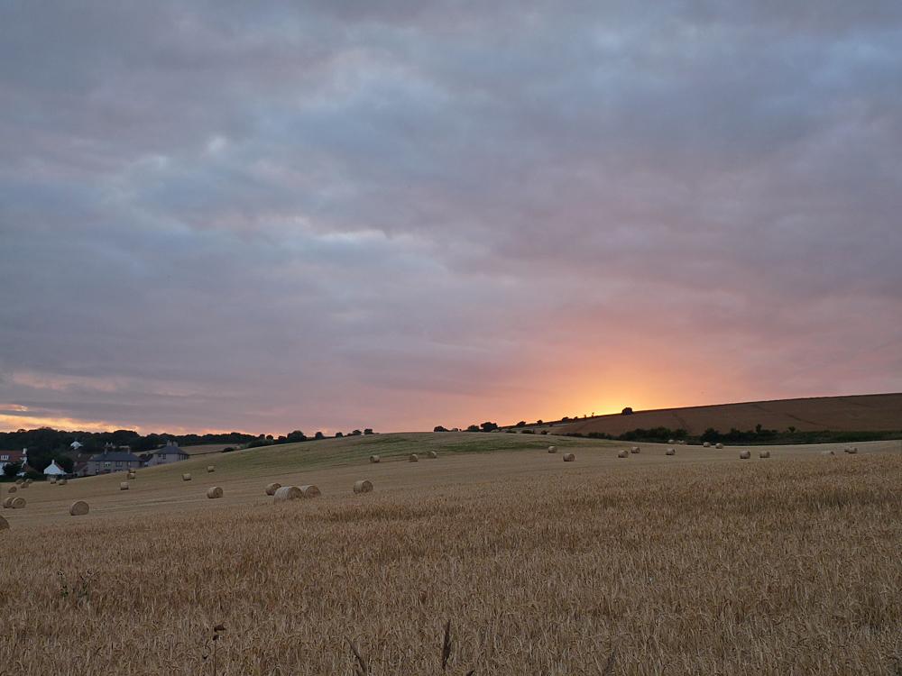 Summer evening in Coldingham