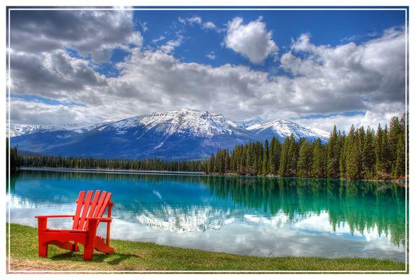 Summer in Jasper, Alberta, Canada
