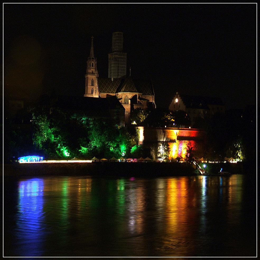 Summer night in Basel