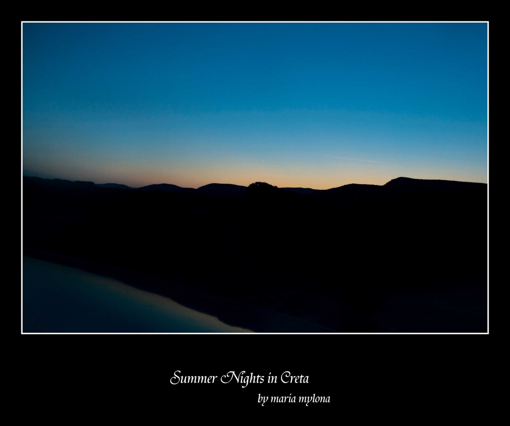 Summer Night in Creta