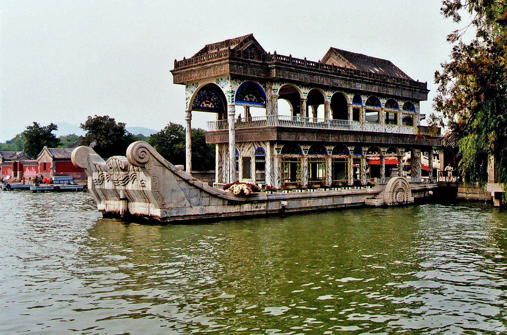 Summer Palace, Boat Architecture