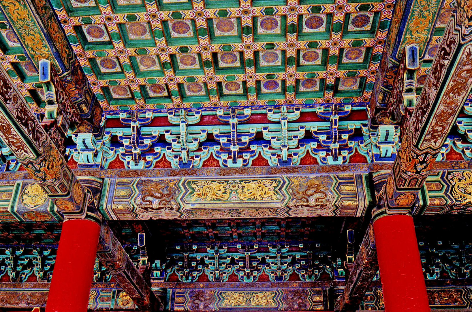Summer Palace, Ceiling