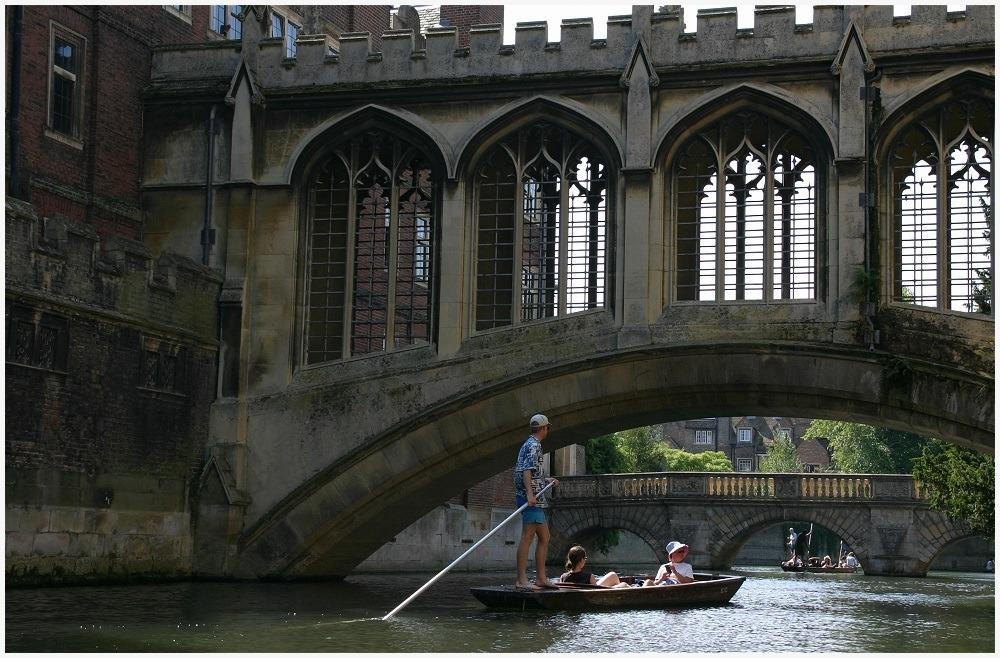 Summer Sunday, Cambridge