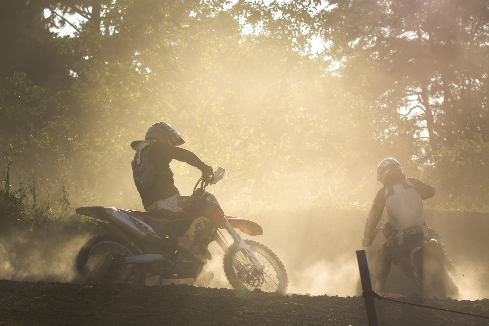 Sun and Dust