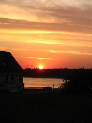 sun comes down