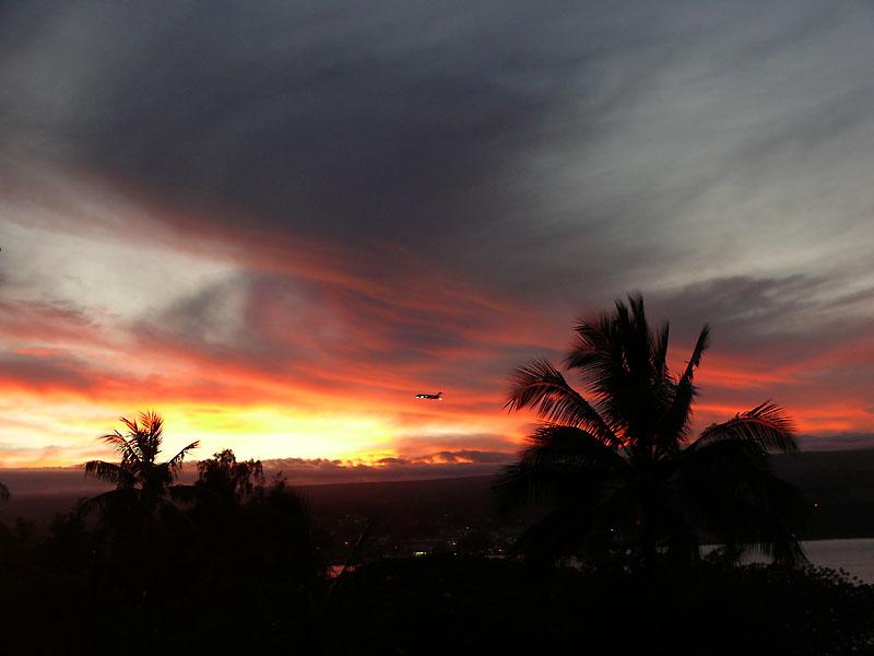 sun down at Hilo