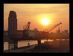 sun down im Frankfurter Osten
