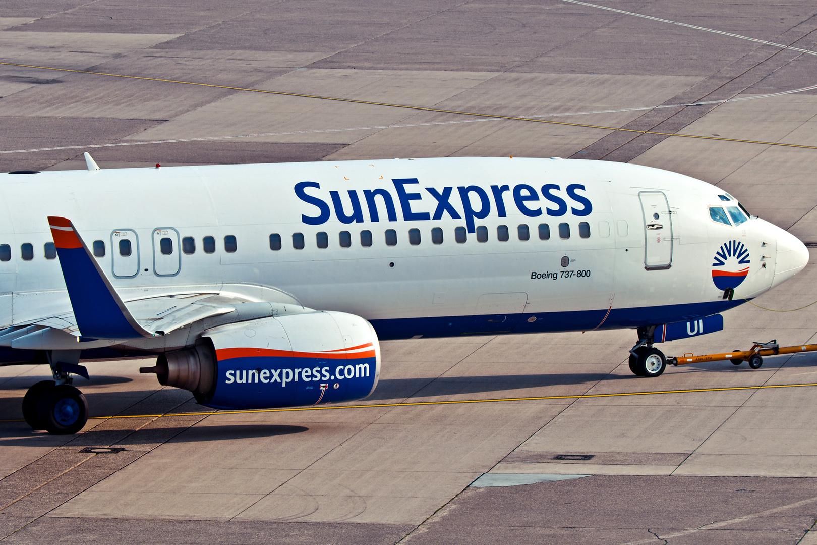 Sun Express in Düsseldorf