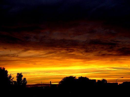 sun goes down in culmbeachcity