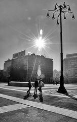Sun in Milan