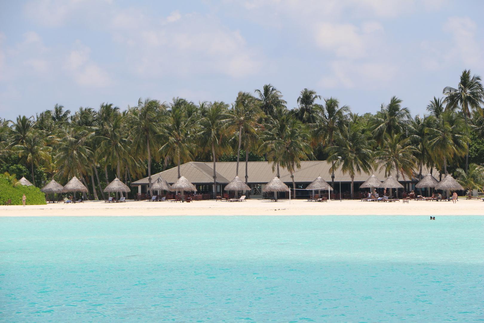 Sun Island in den Maldives