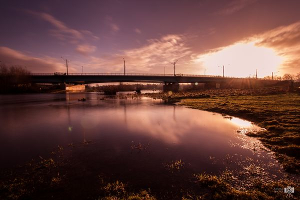 ...Sun kissed bridge...