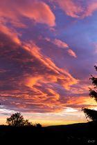 Sun Kisses Clouds