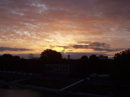 Sun over Cologne