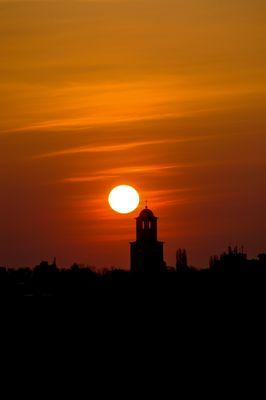 Sun over St. Gebhard