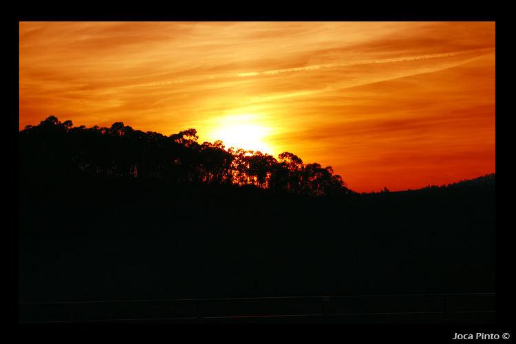 Sun Set in Portugal