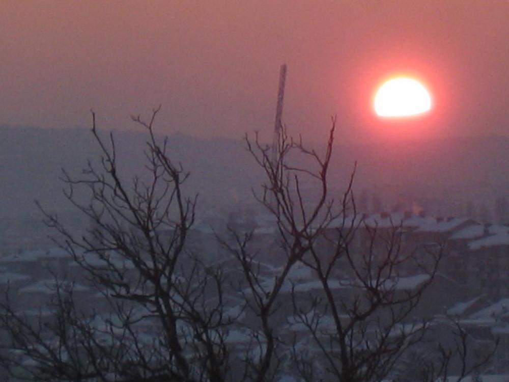 Sun Set in Veliko Tarnovo (2)