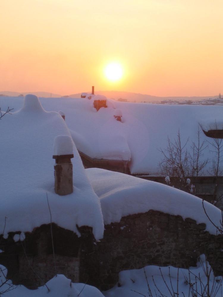 Sun Set in Veliko Tarnovo