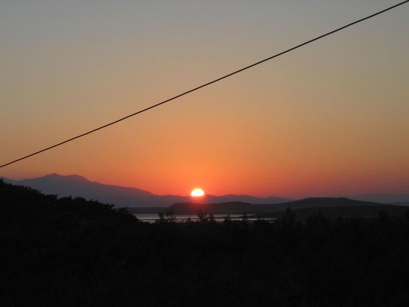 sun setting:D