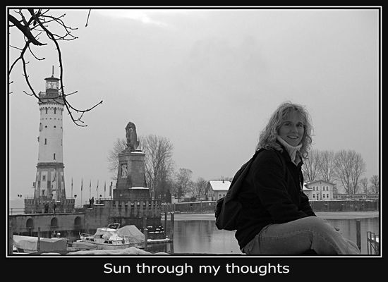 Sun through my thoughts