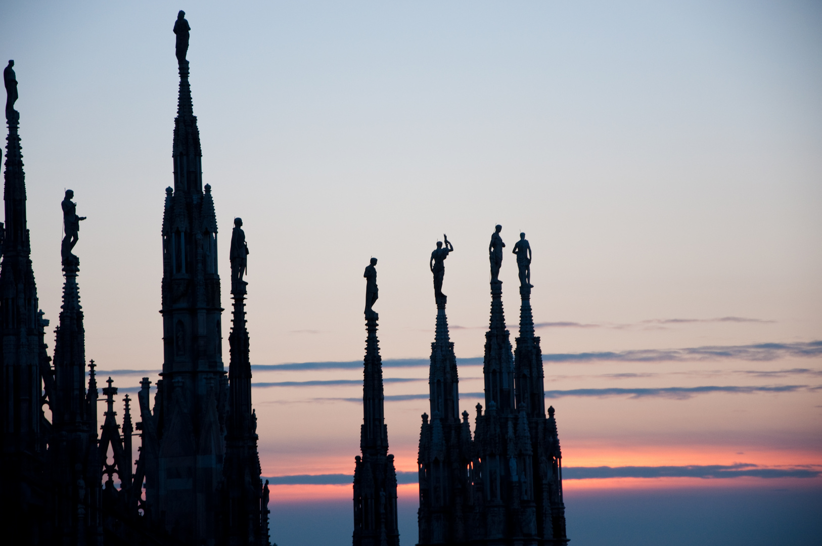 Sundawn at Duomo di Milano
