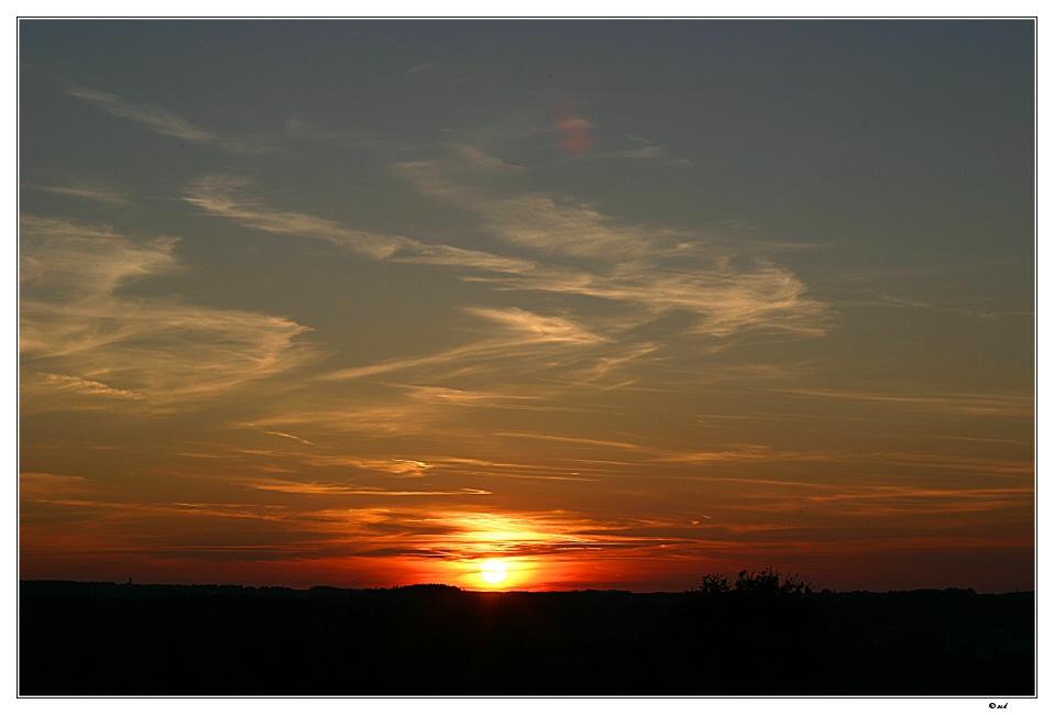 Sundown...