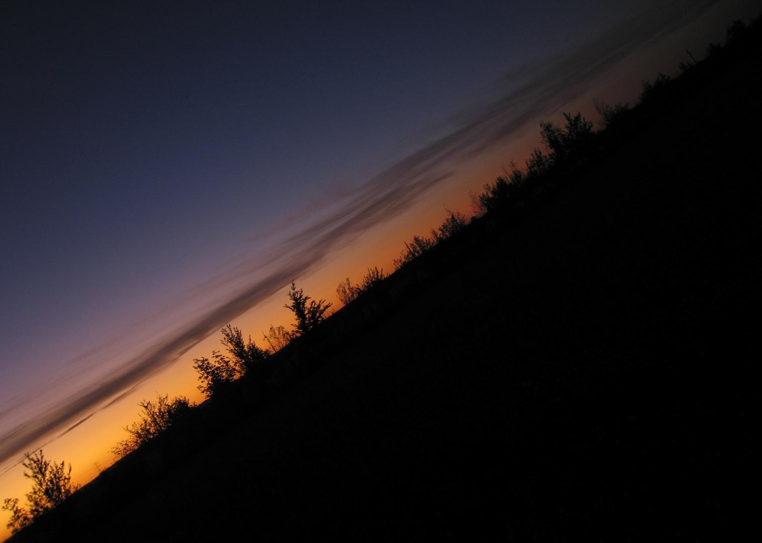 ...sundown...