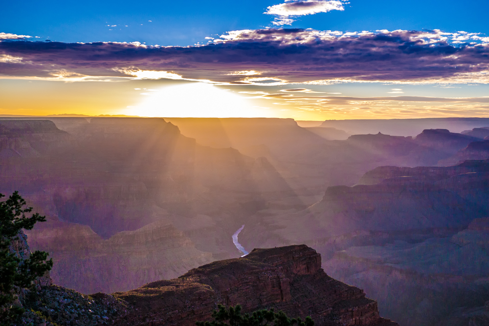 Sundown am Grand Canyon - 1