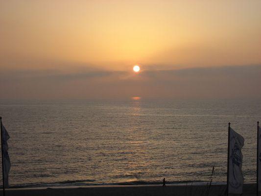 Sundown am Kliff