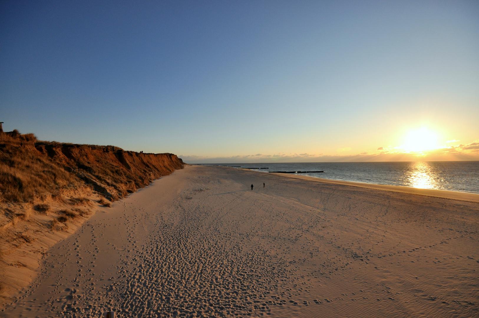 Sundown am Roten Kliff