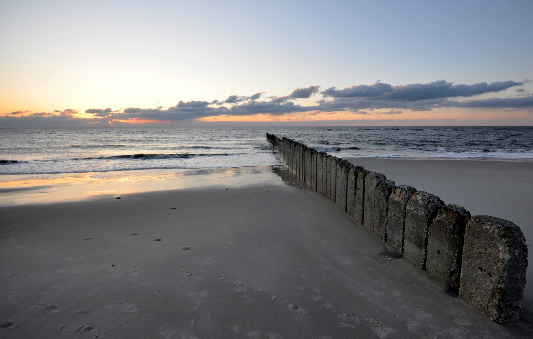 Sundown am Sylter Strand 2
