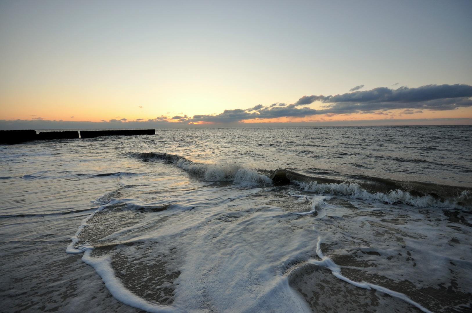 Sundown am Sylter Strand 3