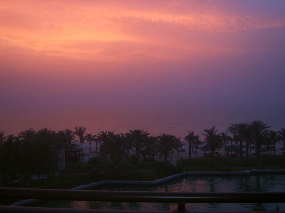 Sundown ambiance