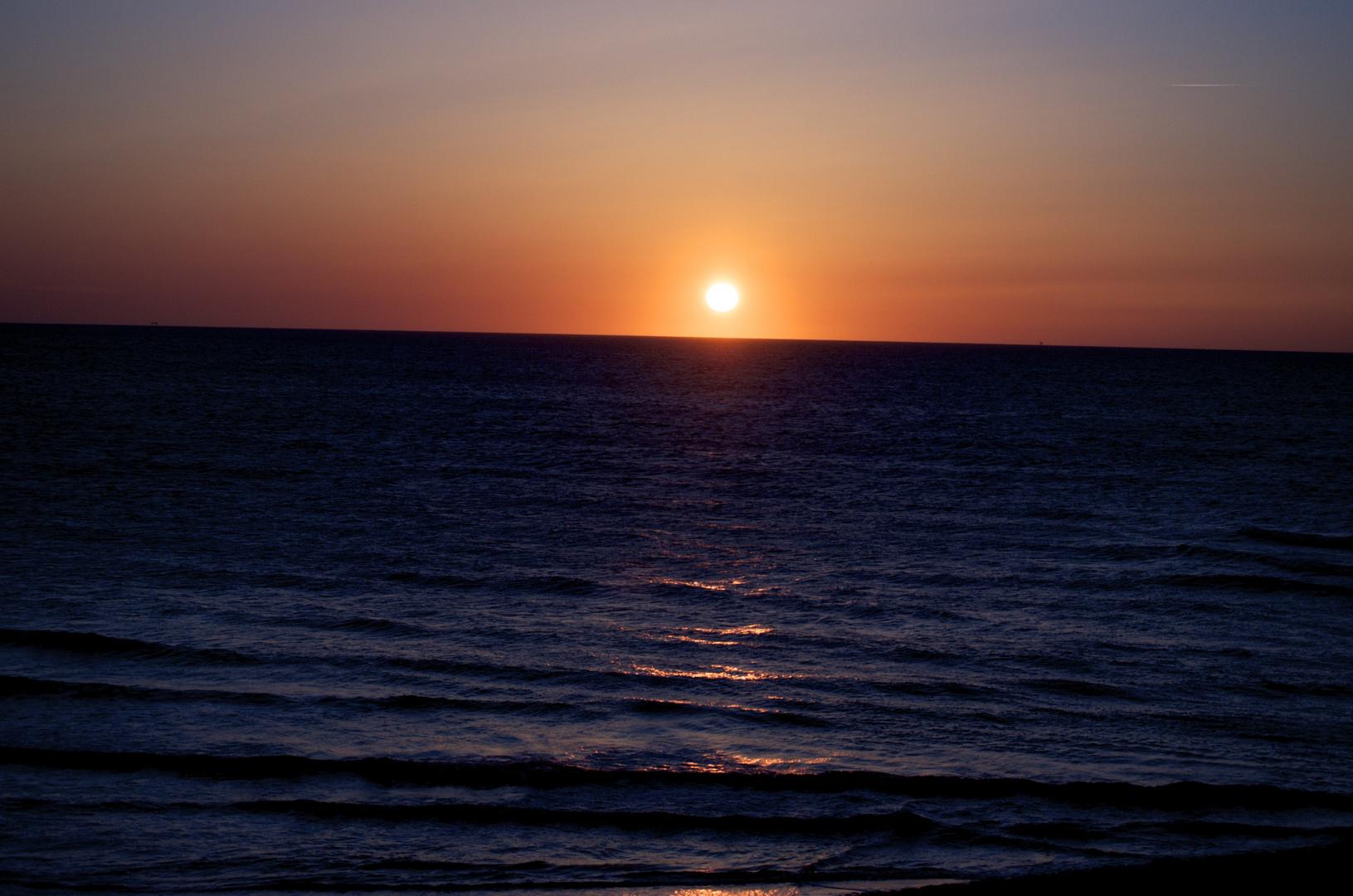 Sundown at Camperduin