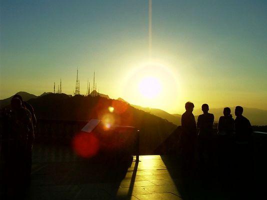 Sundown at Corcovado