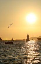 Sundown at English Bay II