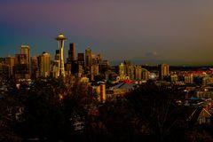 Sundown at Seattle