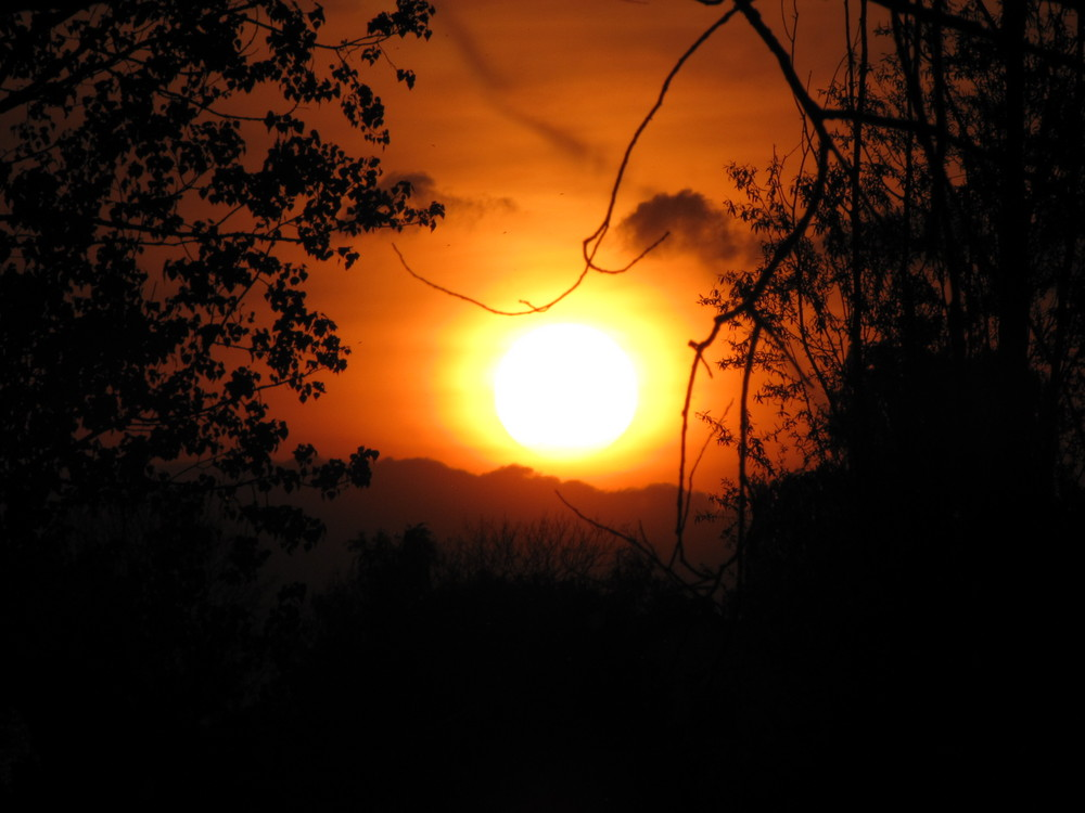 Sundown at the Lake