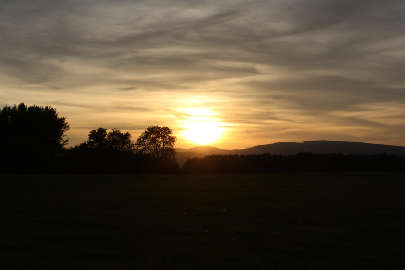 Sundown bei Goslar