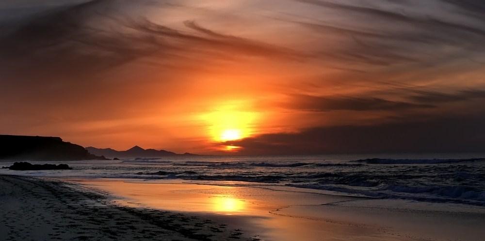 ...sundown bei La Pared...3