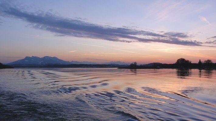 Sundown Chiemsee