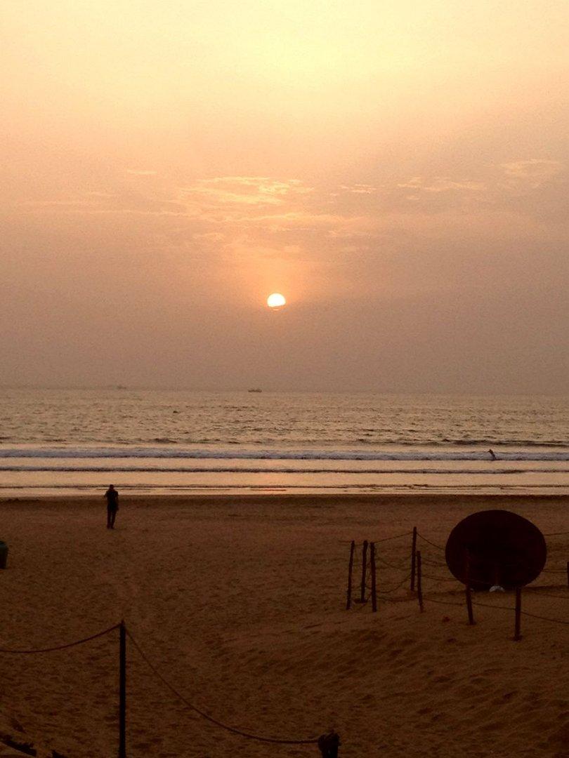 Sundown in Agadir