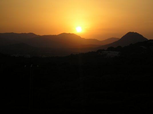 Sundown in Cala Ratjada 2007